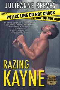 4 1/2 stars for Razing Kayne (Walking a Thin Blue Line #1) by Julieanne Reeves