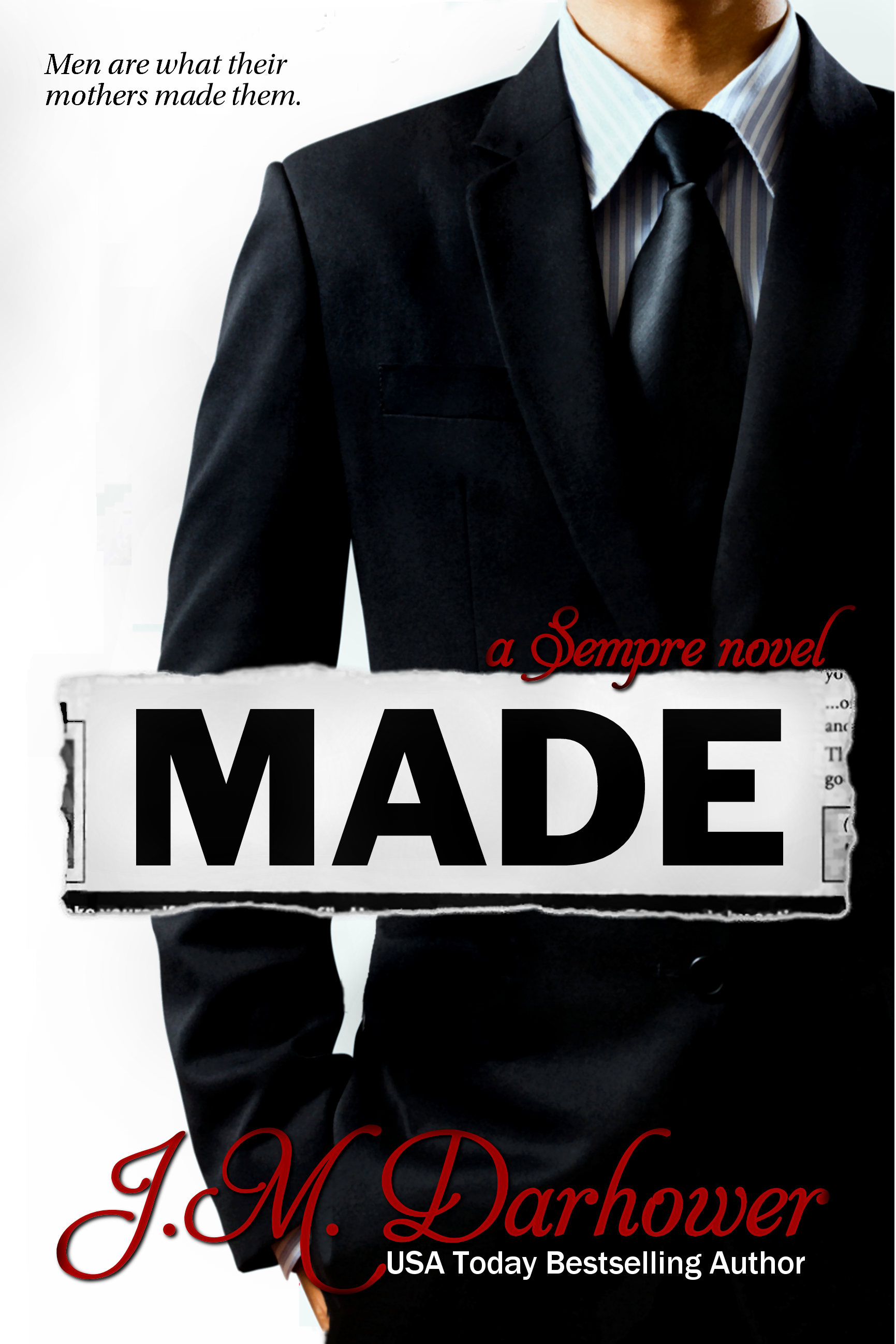 REVIEW:  5 Stars for MADE by J.M. Darhower
