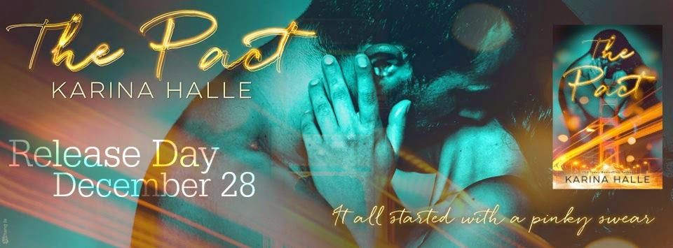 HAPPY RELEASE DAY Karina Halle **THE PACT** We have an Excerpt and Teasers