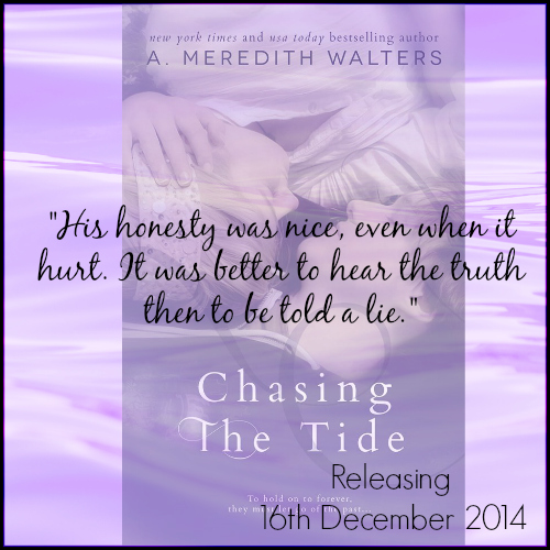 TEASER ALERT #3~Chasing the Tide by A. Meredith Walters