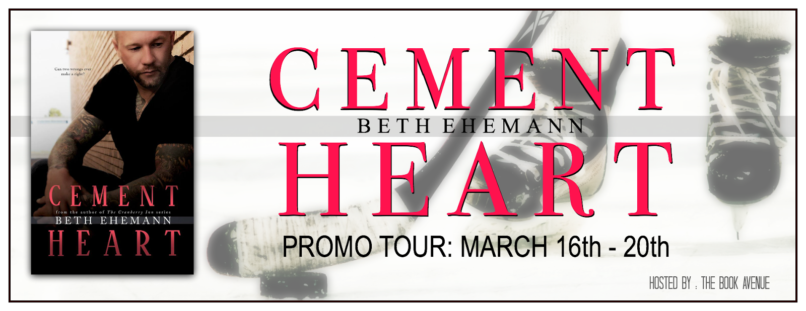 Cement Heart is LIVE! Read the Excerpt, My Review and Enter the Giveaway