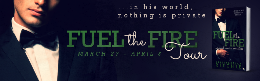 IT'S LIVE #FueltheFire By Krista and Becca Ritchie BLOG TOUR ★Easter Edition: Character Interview ★