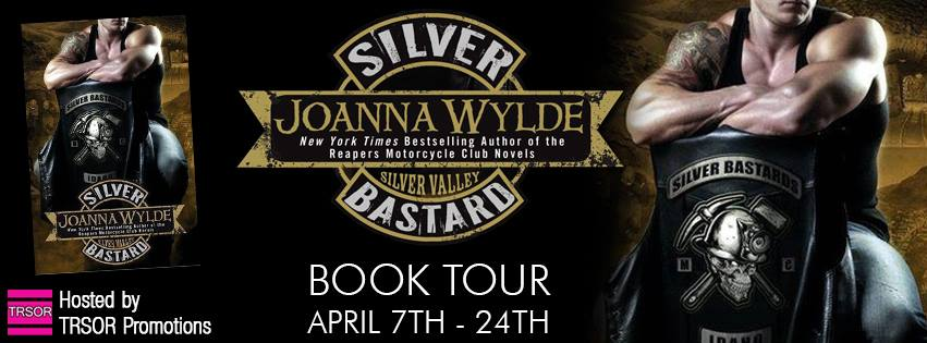 BOOK TOUR⋮ EXCERPT⋮ GIVEAWAY⋮ REVIEW ➜ 5 Badass Stars for SILVER BASTARD by Joanna Wylde
